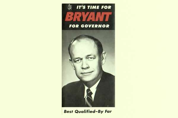'Bryant for Governer' pamphlet