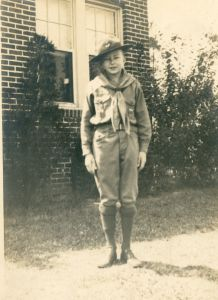 Stetson Kennedy as boy