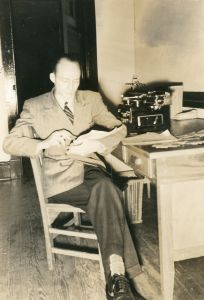 Stetson Kennedy at the Writers Project 1938